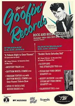 14-15.10 GOOFIN' RECORDS ROCK AND ROLL WEEKENDER