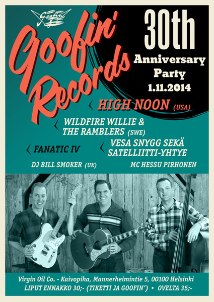Goofin 30th Anniversry show